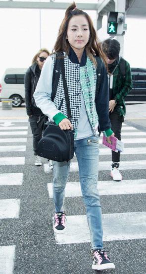 Korean Style Inspirasi Bergaya Sporty Ala Selebriti Korea 7