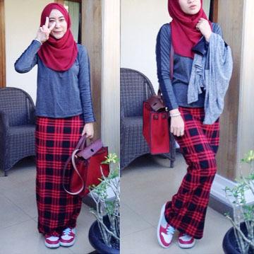 Hijab Style Tampil Modis Dengan Sneaker Ala Ameera Mijannah Ali 5