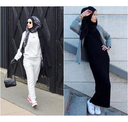 Hijab Style Gaya Simple Untuk Hangout Ala Zizi Hijabers Asal Denmark
