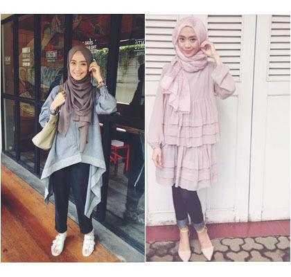 Hijab Style Gaya Hijab Simple Dan Modis Ayu Aryuli