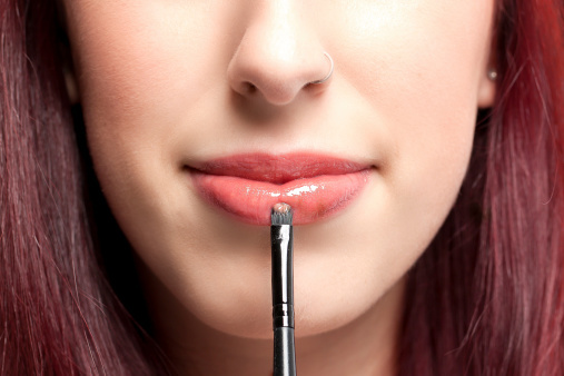 Image result for pakai lipstik nude