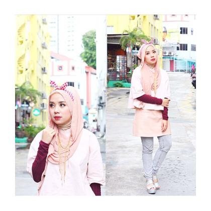 Hijab Style Cara Padu Padan Bando Ala Dian Pelangi Selebgram 3