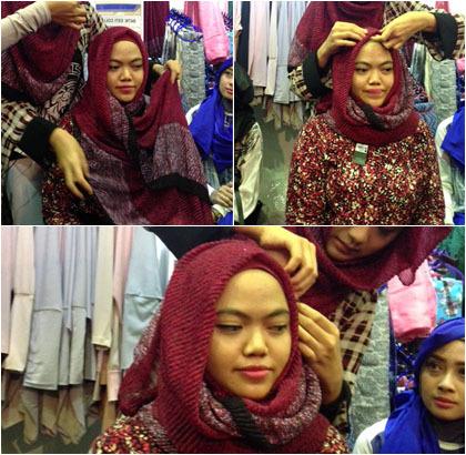 Bergaya ala Indah Nada Puspita dengan Tutorial Hijab Ini 1