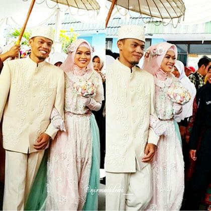 Foto Inspirasi Gaun Pengantin Syar 39 I Dari Pernikahan