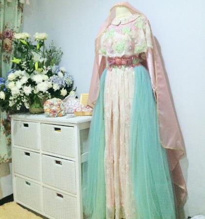 Gaun Pengantin Syar 39 I Rancangan Putri Aa Gym Ini Laris