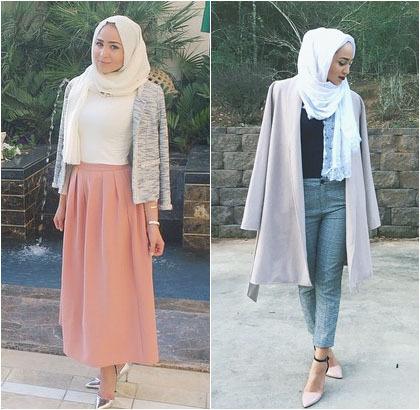 Hijab Style Cantik Stylish Fashion Blogger Asal Dubai