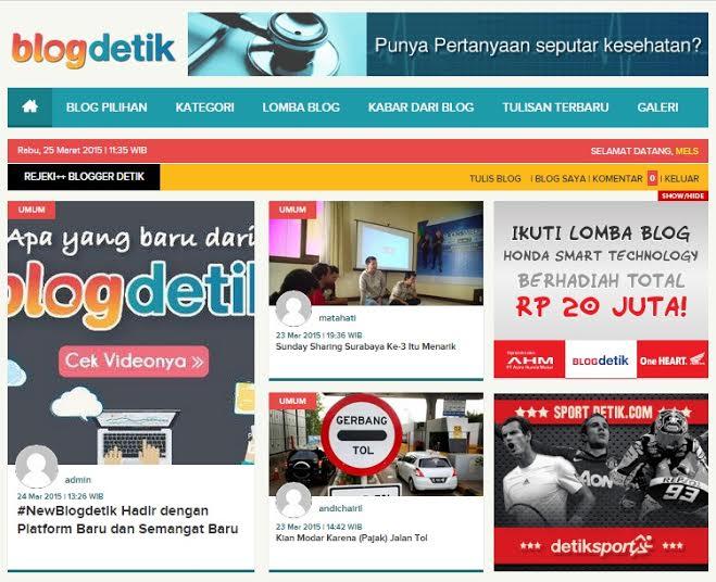 Blogdetik Eksis dengan Tampilan dan Platform Baru