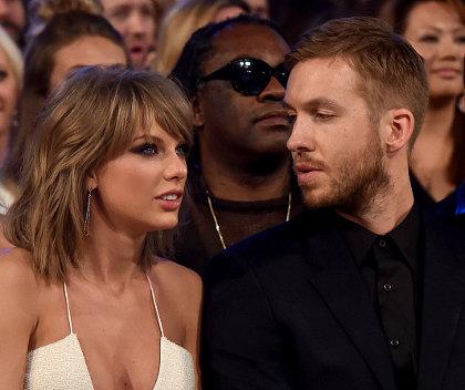 Foto: Kemesraan Taylor Swift dan Calvin Harris di Billboard Music Awards 1