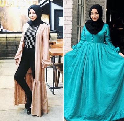 Foto: Gaya Hijab Calon Arsitek Cantik Asal Bandung, Nabila Bella