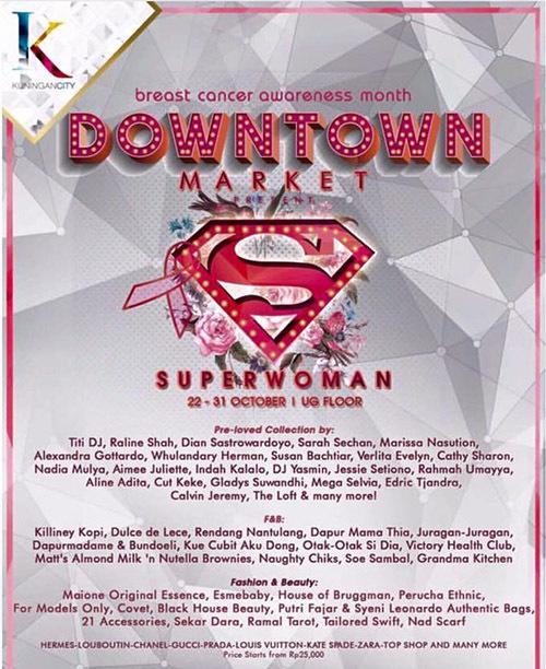Downtown Market Superwoman Bazaar