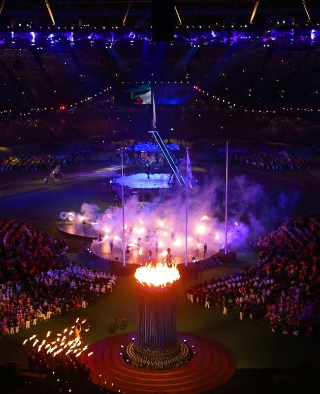 Debut Api Olimpiade