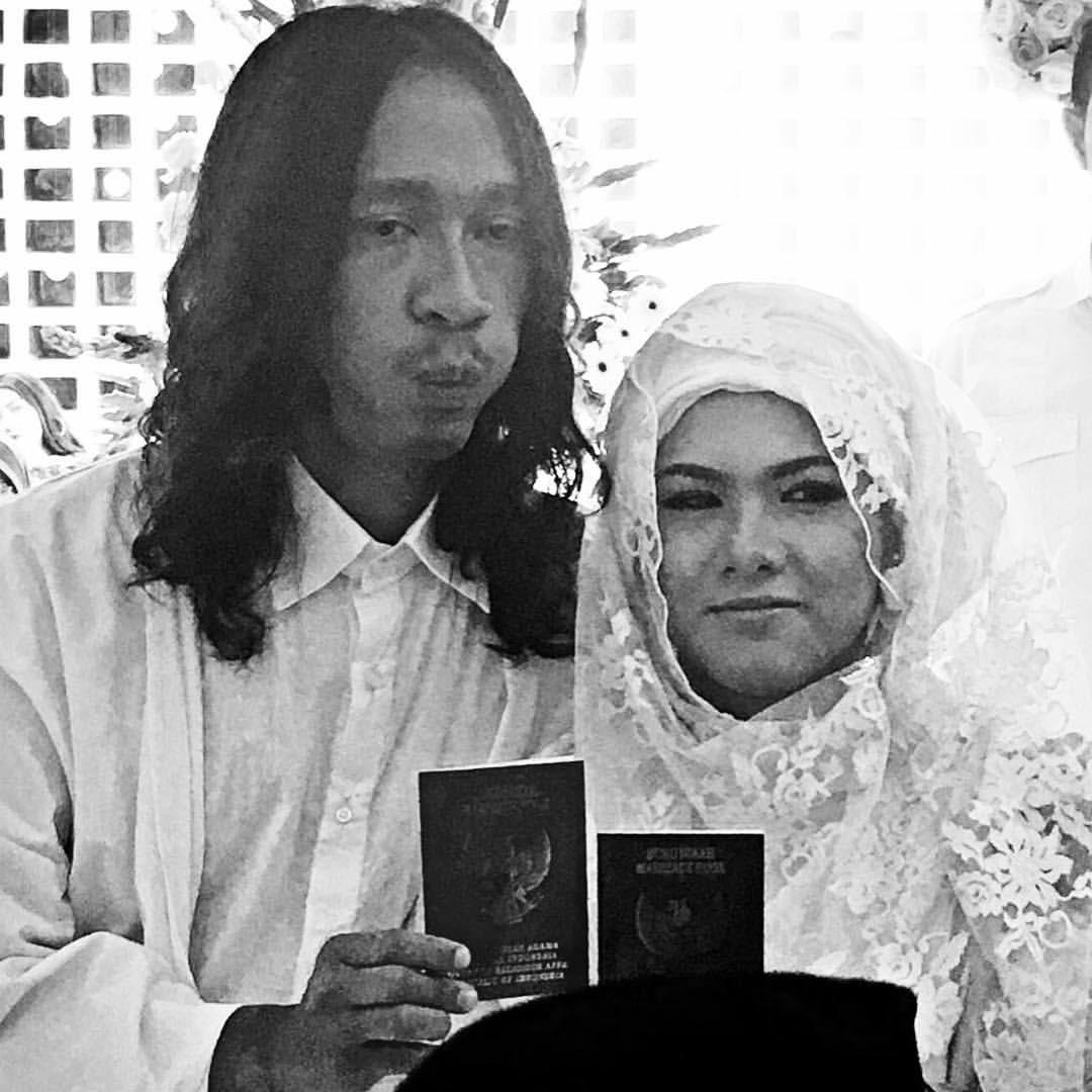 Pernikahan Aming dan Evelyn