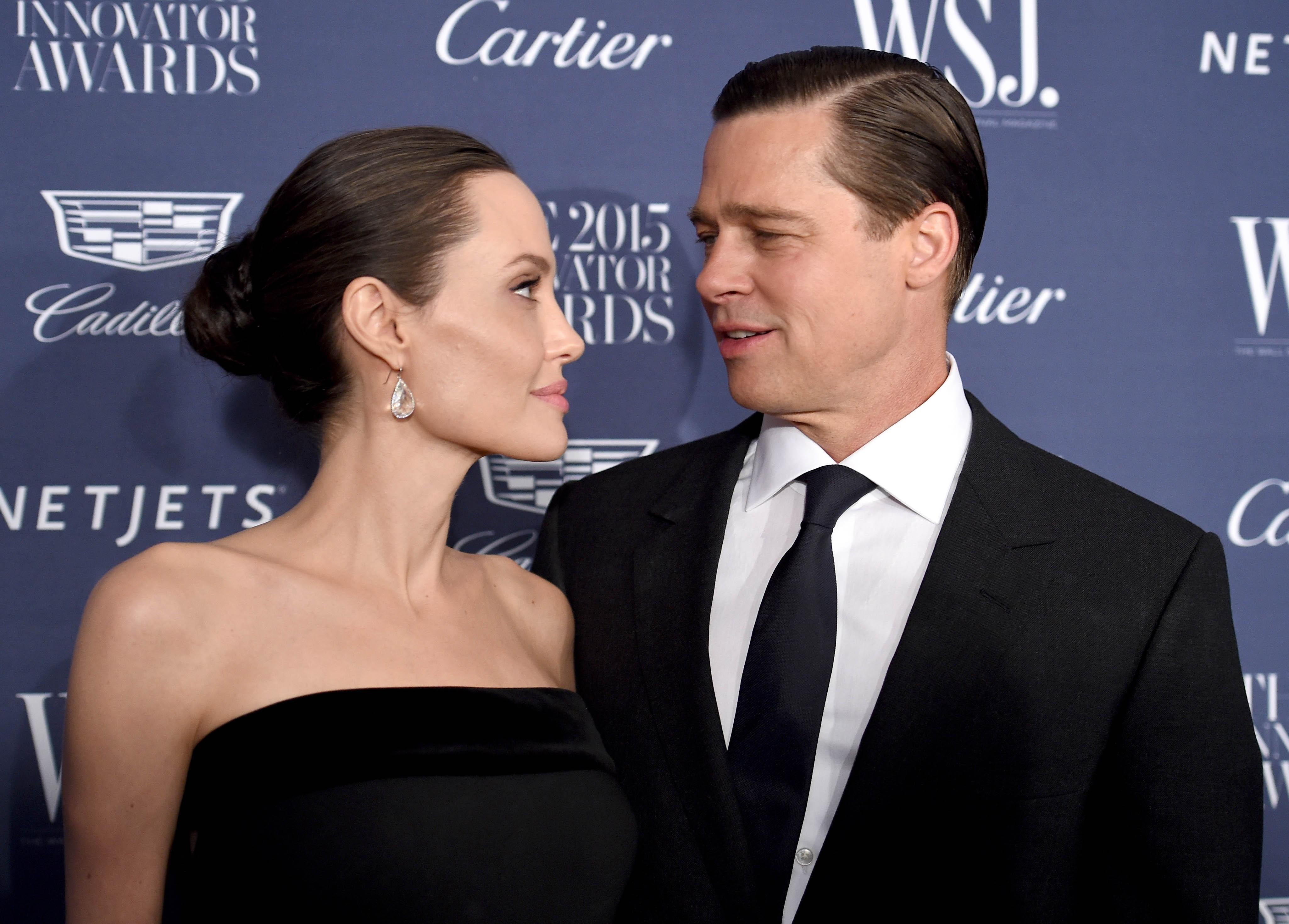 Perceraian Brad Pitt dan Angelina Jolie