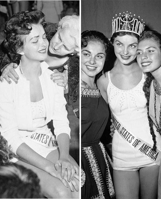 Miss USA 1957 Mary Leona Gage