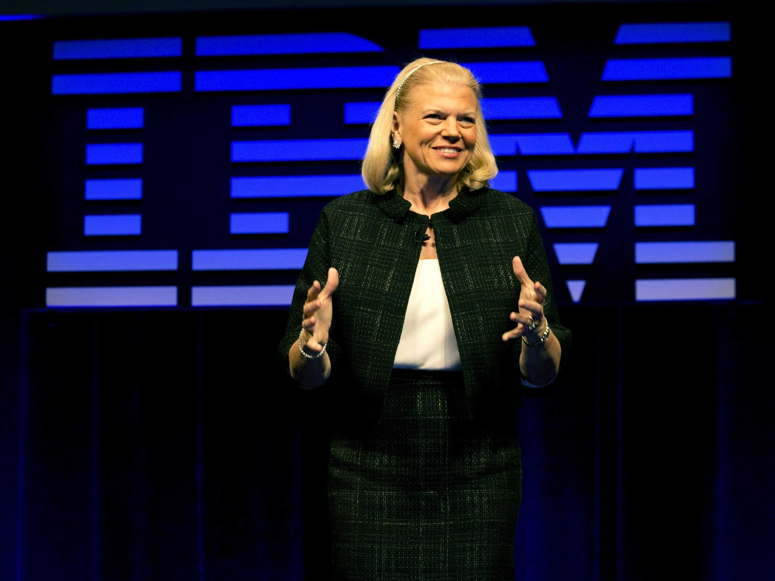 Virginia Rometty - CEO IBM