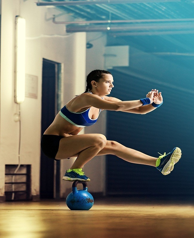 Fokus saat berolahraga