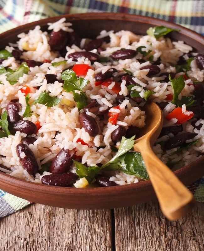 Sahur dengan Nasi Merah
