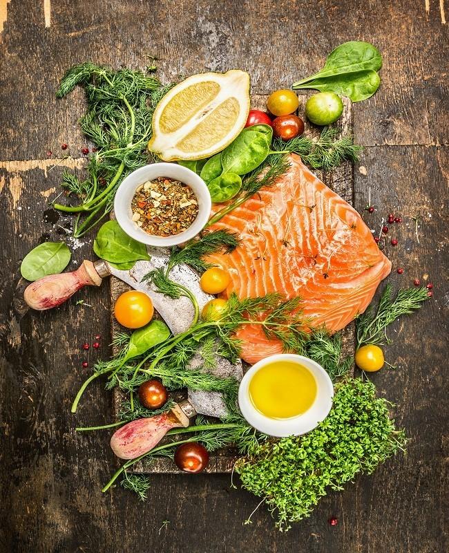 Konsumsi Salmon