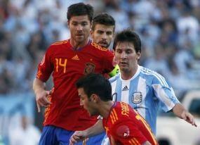 Argentina Gasak Spanyol 4-1