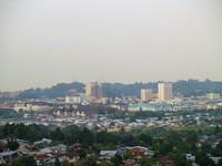 Kota Batam yang terlihat cantik saat siang hari