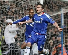 Penalti Lampard Bawa Chelsea Bekap MU