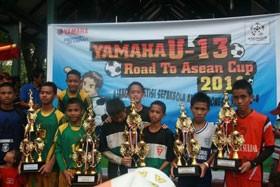 Football Festival Yamaha U-13 Road To Asean Ketat Diseleksi Demi Pertahankan Prestasi