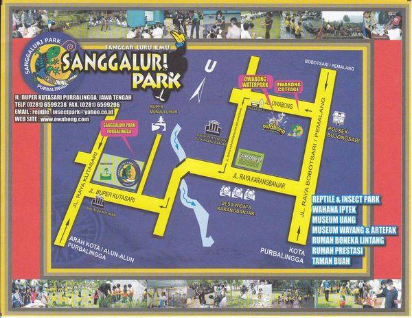 Map To Sanggaluri Park