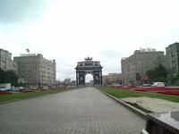 Arc de Triumph Versi Moskwa