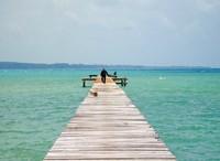 Salah satu teluk di Pulau Seliu.