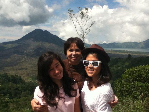 On the way to Danau Batur