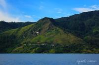Perbukitan di Tepi Danau Toba