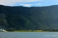 Perkampungan di Tepi Danau Toba