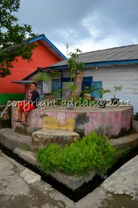 Sisa Menara Bunker Anti Aircraft Artillery Jepang di Palembang