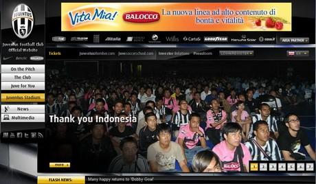 Salam Juve untuk Tifosi di Indonesia