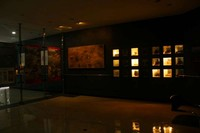 Suasana di dalam museum dan koleksi mengenai gunung berapi (Vanya Safitri/ACI)