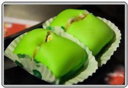 Pancake durian buatan Nelayan Tenda yang berada di Pusat Jajan Merdeka Walk