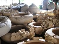 Keramik setengah jadi (dok. Diana Suciawati/dtraveller)