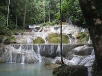 Air terjun Moramo yang indah (Terryna Padmi Tunjungsari/dtraveler)