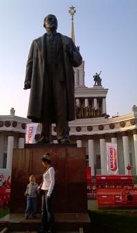 Patung Lenin di Taman Mini eks Uni Soviet