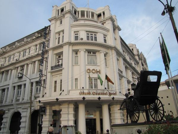 Grand Oriental Hotel yang antik di Colombo (Foto: Fitraya/detikTravel)
