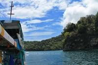 Perjalanan mengitari pulau (Hendri/dTraveler))