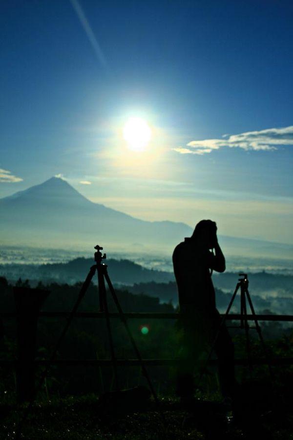 Puncak Bukit Punthuk Setumbu, Borobudur Nirwana Sunrise