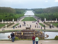 Taman 800 hektar di Versailles (Foto: Fitraya/detikTravel)