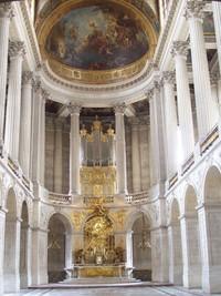 Kapel di Versailles, tempat menikah Raja Louis XIV dan Marie Antoinette (Fitraya/detikTravel)