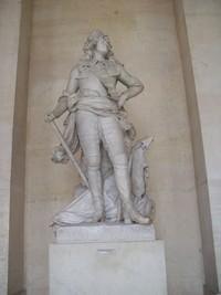 Patung Raja Louis XIV (Foto: Fitraya/detikTravel)