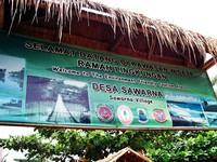 Selamat datang di Desa Sawarna