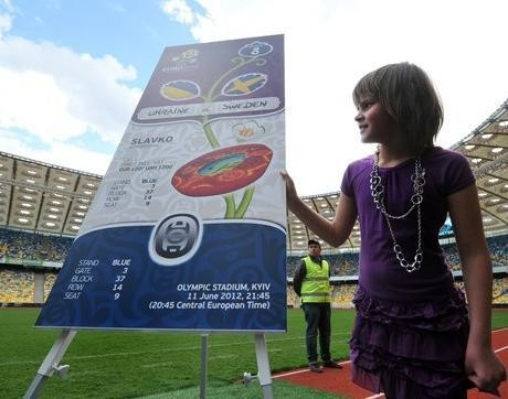 Desain Tiket Euro 2012 Diluncurkan
