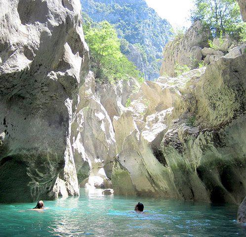 Gorges du Verdon, Alpes-de-Haute-Provence  (guardian.co.uk)