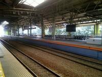 Peron di Stasiun Gambir (dok. Sastri/detikTravel)