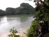 Byur! Segarnya Bermain Air di Segara Anakan, Pulau Sempu